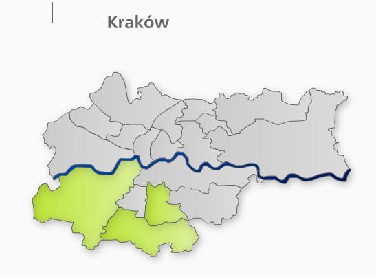 Okręg wyborczy do Rady Miasta Krakowa