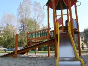 Nowa zjeżdżalnia dla dzieci