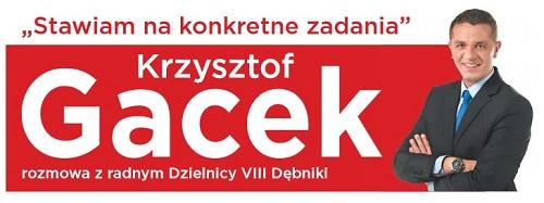 Krzysztof Gacek - podsumowanie kadencji 2011-2014