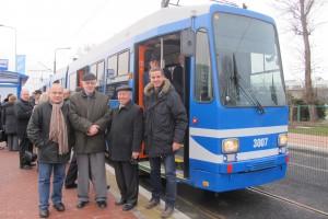 Otwarcie pierwszego etapu linii tramwajowej na Ruczaj