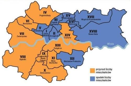 Wzrost liczby mieszkańców w VIII dzielnicy!
