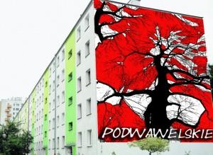 Projekt muralu na os. Podwawelskim