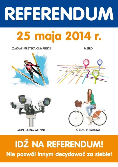 Referendum w Krakowie niedziela 25 maja 2014 r.