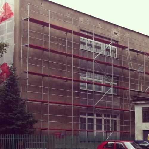Termomodernizacja budynków SP 25 i Gimnazjum 21 na os. Podwawelskim