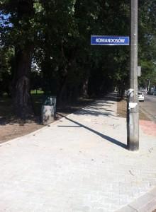Remonty chodników na osiedlu Podwawelskim