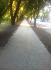 Nowe chodniki na os. Podwawelskim