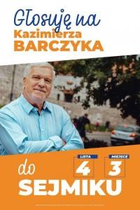 Wybieram Kazimierza Barczyka
